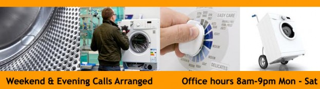 Office Hours 8am to 9pm Mon to Sat. Domestic appliances fixed and parts supplied throughout Dublin, Tallaght, Clondalkin, Ballyfermot. Walkinstown,Crumlin, Rathfarnham,  Southside, Northside, South Dublin, North Dublin and City Centre by A1 Power Logic