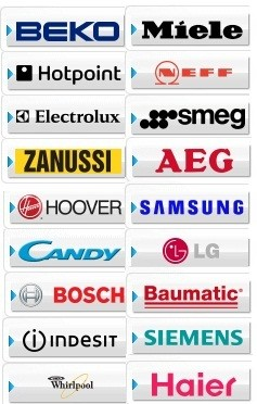 Repairs of domestic appliances by: Beko, Hotpoint, Electrolux, Zanussi, Hoover, Candy, Bosch, Indesit, Whirlpool, Miele, Neff, Smeg, AEG, Samsung, LG, Baumatic, Siemens, Haier, Creda,  Belling, Tricity Bendix, in Dublin by A1 Power Logic